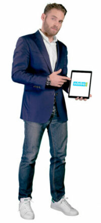 Personnage du Startuper - Entrepreneur pour Edebex